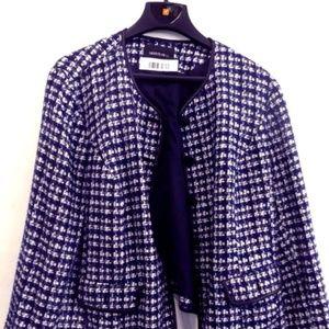 ⚜⚜Lafayette 148 NY Wool Blend Tweed Blazer PLUS!